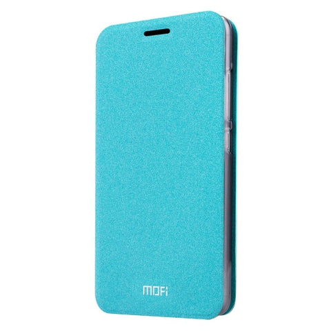 MOFI Xiaomi Mi 4S Crazy Horse Texture Horizontal Flip Leather Case with Holder(Blue)
