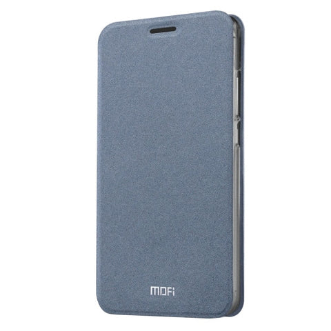 MOFI Meizu M3 Note Crazy Horse Texture Horizontal Flip Leather Case with Holder(Grey)