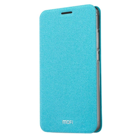 MOFI Meizu M3 Note Crazy Horse Texture Horizontal Flip Leather Case with Holder(Blue)
