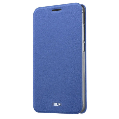 MOFI 360 f4 Crazy Horse Texture Horizontal Flip Leather Case with Holder(Dark Blue)