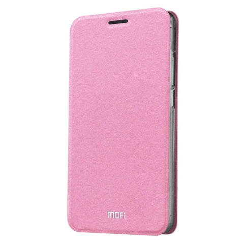 MOFI 360 f4 Crazy Horse Texture Horizontal Flip Leather Case with Holder(Pink)