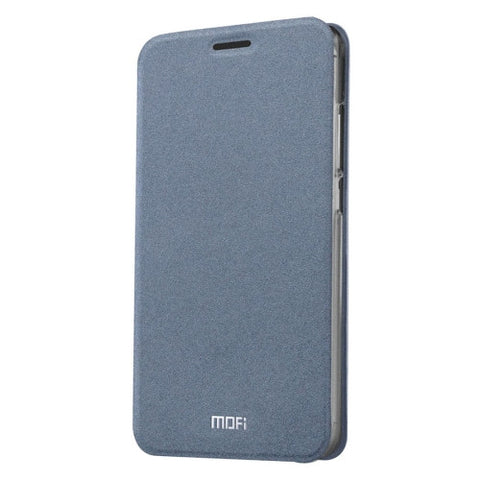MOFI 360 f4 Crazy Horse Texture Horizontal Flip Leather Case with Holder(Grey)