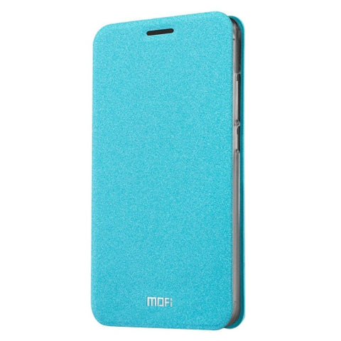 MOFI 360 f4 Crazy Horse Texture Horizontal Flip Leather Case with Holder(Blue)