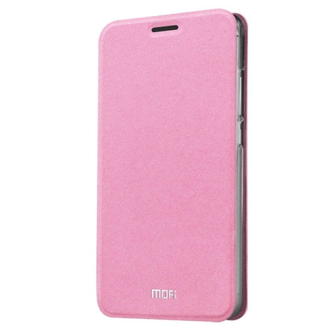 MOFI Xiaomi Redmi 3 Pro Crazy Horse Texture Horizontal Flip Leather Case with Holder(Pink)