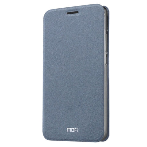 MOFI Xiaomi Redmi 3 Pro Crazy Horse Texture Horizontal Flip Leather Case with Holder(Grey)