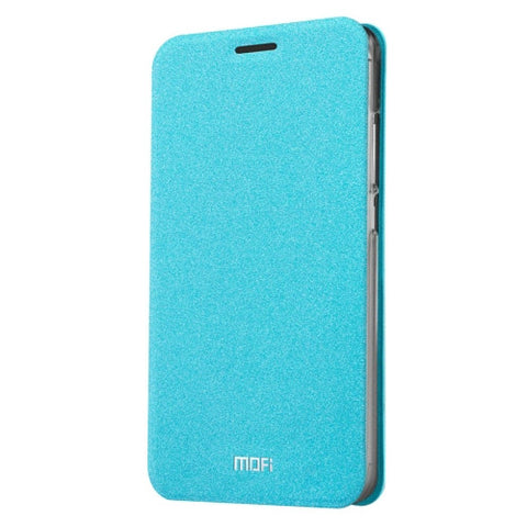 MOFI Xiaomi Redmi 3 Pro Crazy Horse Texture Horizontal Flip Leather Case with Holder(Blue)
