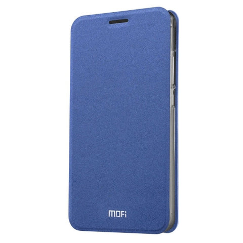MOFI Meizu M3 Crazy Horse Texture Horizontal Flip Leather Case with Holder(Dark Blue)