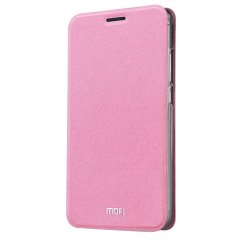 MOFI Meizu M3 Crazy Horse Texture Horizontal Flip Leather Case with Holder(Pink)