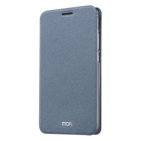 MOFI Meizu M3 Crazy Horse Texture Horizontal Flip Leather Case with Holder(Grey)