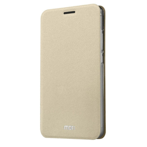 MOFI Meizu M3 Crazy Horse Texture Horizontal Flip Leather Case with Holder(Gold)