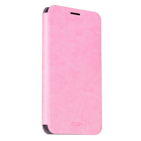MOFI Xiaomi Mi Max Crazy Horse Texture Horizontal Flip Leather Case with Holder(Pink)