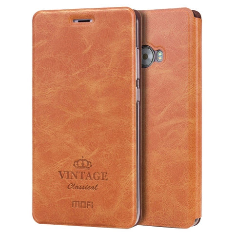 MOFI VINTAGE Xiaomi Note 2 Crazy Horse Texture Horizontal Flip Leather Case with Card Slot & Holder (Brown)