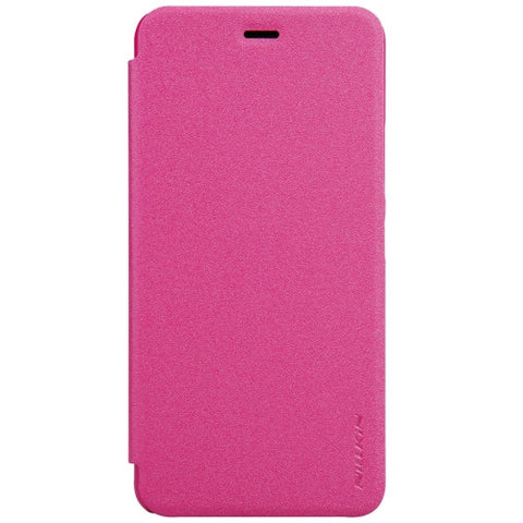 NILLKIN SPARKLE Series For Asus Zenfone 3 Max ‏/ ZC520TL Frosted Texture Horizontal Flip Leather Case(Magenta)