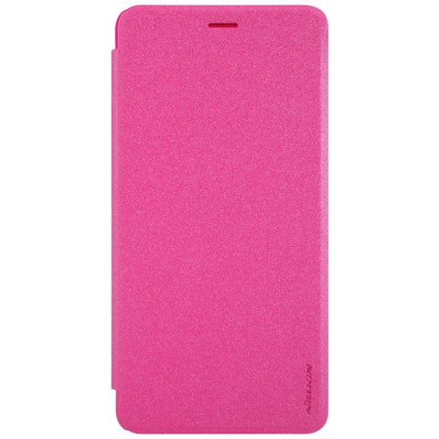 NILLKIN SPARKLE Series For Asus Zenfone 3 Ultra / ZU680KL Frosted Texture Horizontal Flip Leather Case with Sleep / Wake-up Function(Magenta)