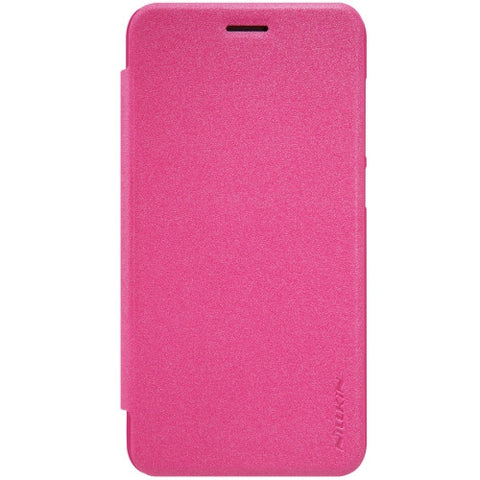 NILLKIN SPARKLE Series Huawei Honor 5 Frosted Texture Horizontal Flip Leather Case (Magenta)