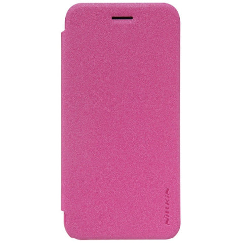NILLKIN SPARKLE Series For ASUS ZenFone Go / ZB452KG Frosted Texture Horizontal Flip Leather Case(Magenta)