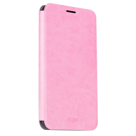 MOFI Huawei P9 Crazy Horse Texture Horizontal Flip Leather Case with Holder(Pink)