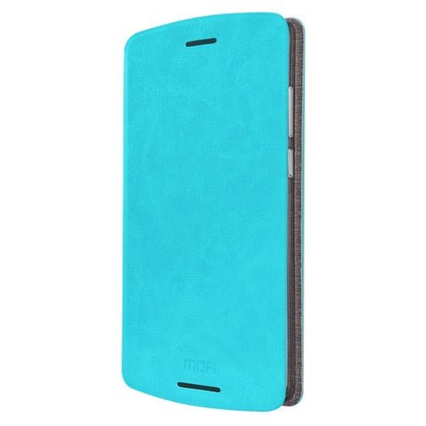 MOFI for Lenovo Lemon X3 Lite Crazy Horse Texture Horizontal Flip Leather Case with Holder(Blue)