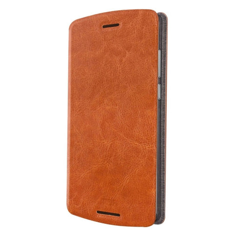 MOFI for Lenovo Lemon X3 Lite Crazy Horse Texture Horizontal Flip Leather Case with Holder(Brown)