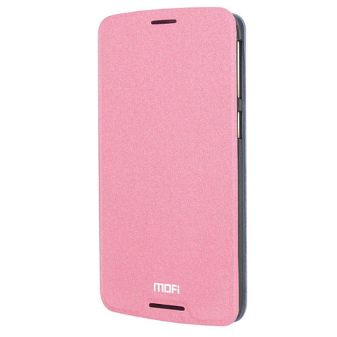 MOFI for HTC Desire 828 Crazy Horse Texture Horizontal Flip Leather Case with Holder(Pink)