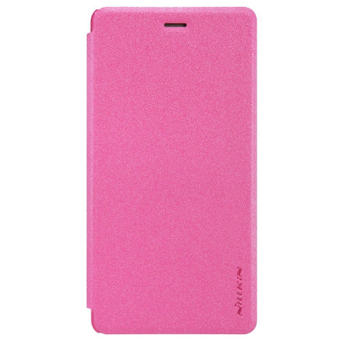 NILLKIN SPARKLE Series Huawei P9 Lite Frosted Texture Horizontal Flip Leather Case (Magenta)