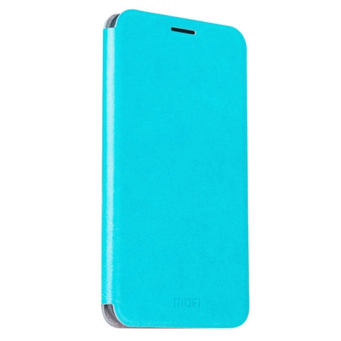 MOFI ZTE Nubia Z11 mini Crazy Horse Texture Horizontal Flip Leather Case with Holder(Blue)