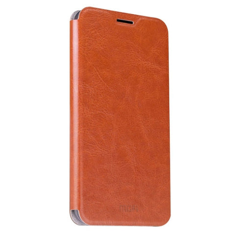 MOFI ZTE Nubia Z11 mini Crazy Horse Texture Horizontal Flip Leather Case with Holder(Brown)