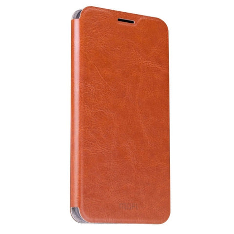 MOFI for ASUS Zenfone 3 5.5inch Crazy Horse Texture Horizontal Flip Leather Case with Holder(Brown)