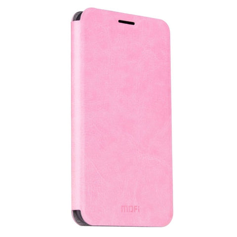 MOFI for China Mobile A2 Crazy Horse Texture Horizontal Flip Leather Case with Holder(Pink)