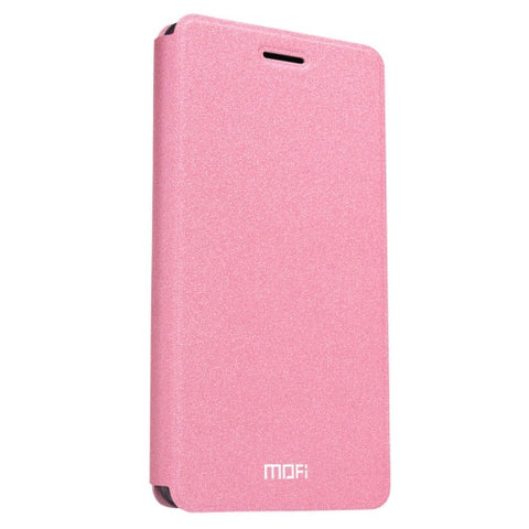 MOFI for Lenovo ZUK Z2 Pro Crazy Horse Texture Horizontal Flip Leather Case with Holder(Pink)