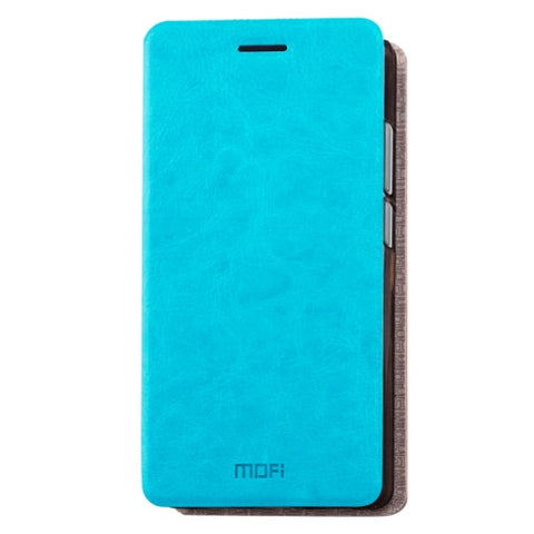 MOFI Xiaomi Redmi 4 Pro / PrimeCrazy Horse Texture Horizontal Flip Leather Case with Holder(Blue)