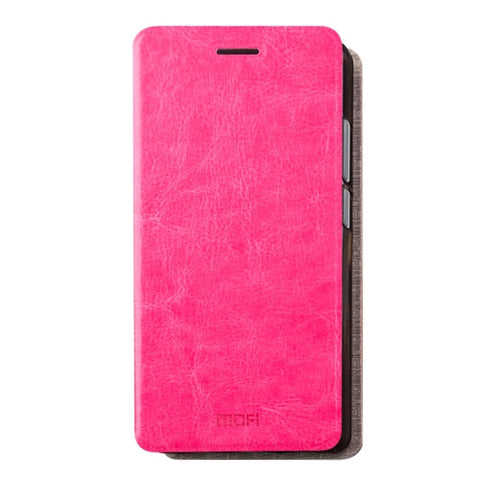 MOFI Xiaomi Redmi 4 Pro / PrimeCrazy Horse Texture Horizontal Flip Leather Case with Holder(Magenta)