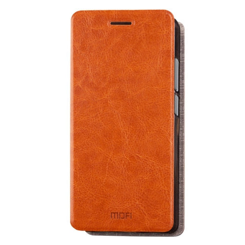 MOFI Xiaomi Redmi 4 Pro / PrimeCrazy Horse Texture Horizontal Flip Leather Case with Holder(Brown)