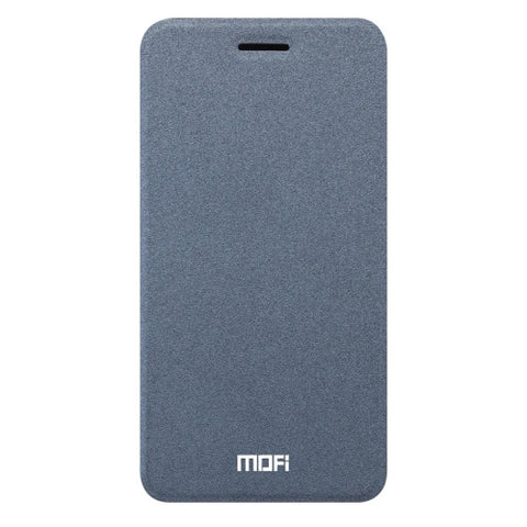 MOFI vivo Y67 Crazy Horse Texture Horizontal Flip Leather Case with Holder (Grey)