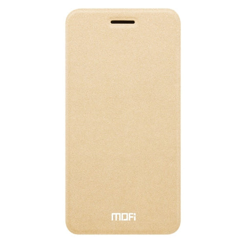MOFI vivo Y67 Crazy Horse Texture Horizontal Flip Leather Case with Holder (Gold)