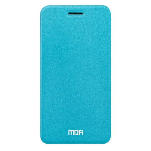 MOFI vivo Y67 Crazy Horse Texture Horizontal Flip Leather Case with Holder (Blue)