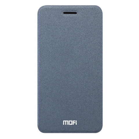 MOFI OPPO R9s Crazy Horse Texture Horizontal Flip Leather Case with Holder(Grey)