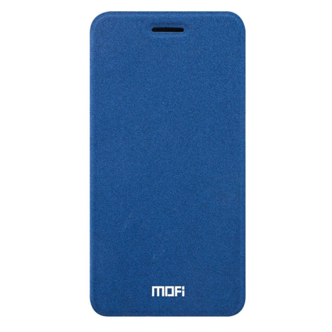MOFI OPPO R9s Plus Crazy Horse Texture Horizontal Flip Leather Case with Holder(Dark Blue)
