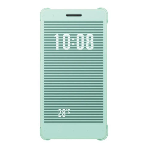 Huawei Honor 7 Horizontal Flip Protective Case with Caller ID Display Function(Blue)