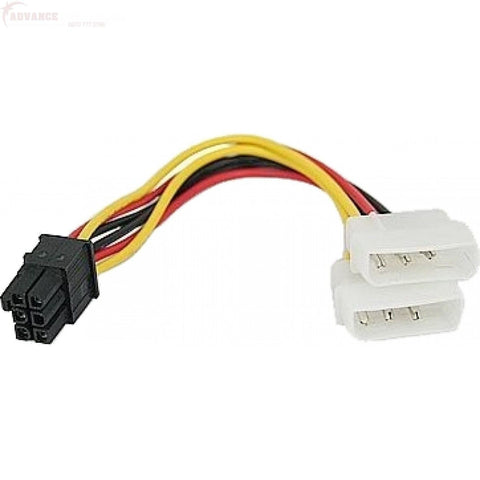 Molex 6 Pin Converter For Graphics Card