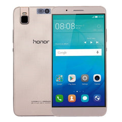 Huawei HONOR 7i ATH-AL00 32GB Network: 4G Foldable Rear Camera Fingerprint Identification 5.2 inch EMUI 3.1 (Android 5.1) Snapdragon 616 Octa Core 4 x 1.5GHz + 4 x 1.2GHz RAM: 3GB(Gold)