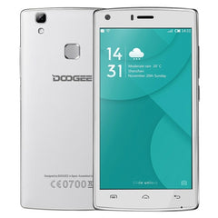 DOOGEE X5 MAX Pro 2GB+16GB 5.0 inch Android 6.0 MTK6737 Quad Core 1.3GHz Network: 4G Support OTG OTA GPS(White)