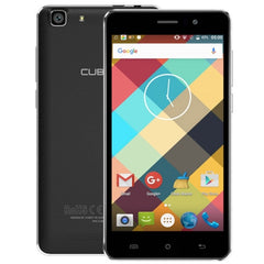 CUBOT Rainbow 16GB Network: 3G 5.0 inch Android 6.0 MTK6580 Quad-Core 1.3GHz RAM: 1GB(Black)