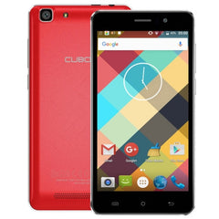 CUBOT Rainbow 16GB Network: 3G 5.0 inch Android 6.0 MTK6580 Quad-Core 1.3GHz RAM: 1GB(Red)