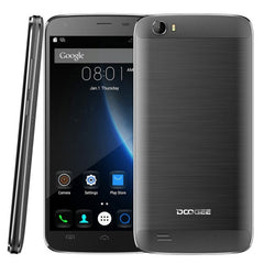 DOOGEE T6 Pro 3GB+32GB 6250mAh Big Battery 5.5 inch Android 6.0 MTK6753 Octa Core 1.5GHz Network: 4G(Black)
