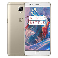 OnePlus 3 64GB Network: 4G 5.5 inch 2.5D Arc Android 6.0 Qualcomm Snapdragon 820 Quad Core 2x2.2GHz + 2x1.6GHz RAM: 6GB(Gold)