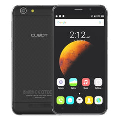CUBOT Dinosaur 16GB Network: 4G Hot Knot Data Transfer Technology 4150mAh Battery 5.5 inch Screen Android6.0 MT6735 Quad-Core 1.3GHz RAM: 3GB(Black)