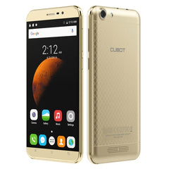 CUBOT Dinosaur 16GB Network: 4G Hot Knot Data Transfer Technology 4150mAh Battery 5.5 inch Screen Android6.0 MT6735 Quad-Core 1.3GHz RAM: 3GB(Gold)