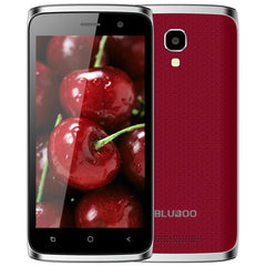 BLUBOO Mini 8GB Network: 3G 4.5 inch Android 6.0 MTK6580M Quad Core up to 1.3GHz RAM: 1GB(Red)
