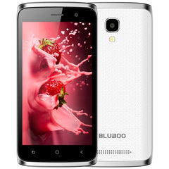 BLUBOO Mini 8GB Network: 3G 4.5 inch Android 6.0 MTK6580M Quad Core up to 1.3GHz RAM: 1GB(White)